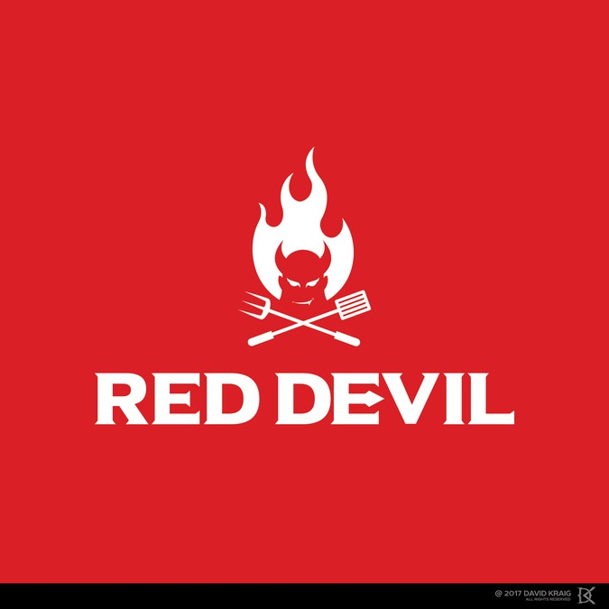 The all-new Red Devil grill needs an iconic log | Logo ...