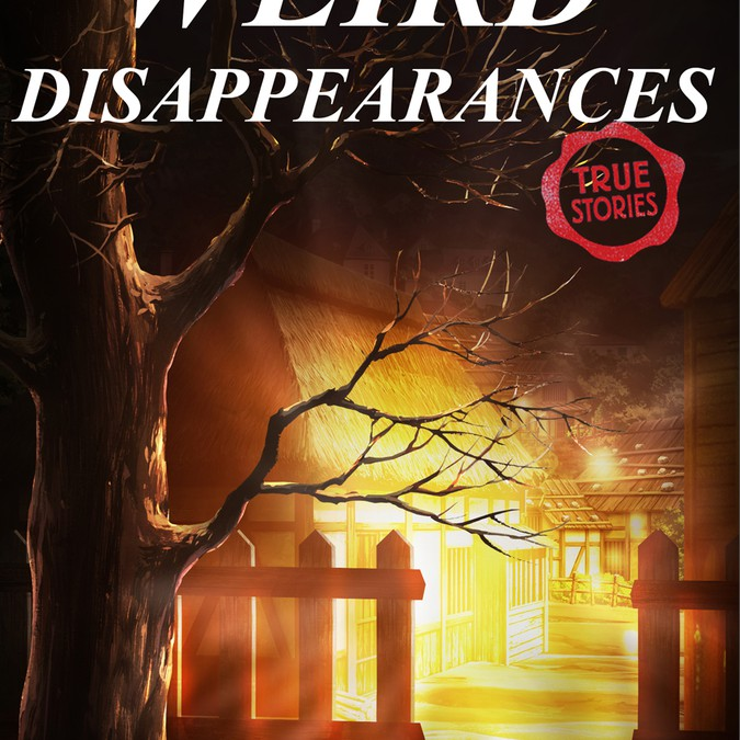 Book Cover Illustration Contest : Weird disappearances children s book cover illustration