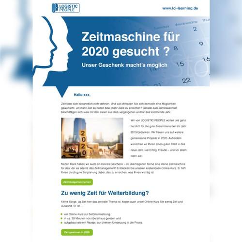 Newsletter Vorlage Fur Einen Weiterbildungskurs Email Contest 99designs