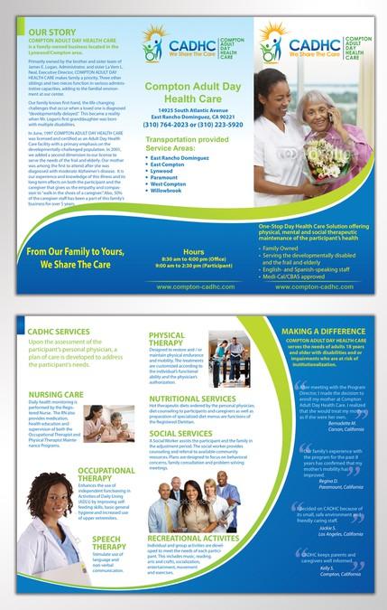 adult brochure day health