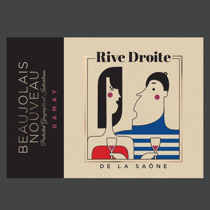 New winenery in Beaujolais needs a new label | concurso Etiquetas de
