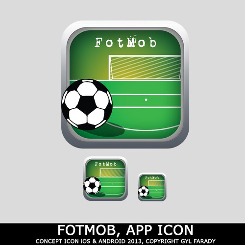 Make an iOS/Android app icon for FotMob | Icon or button contest