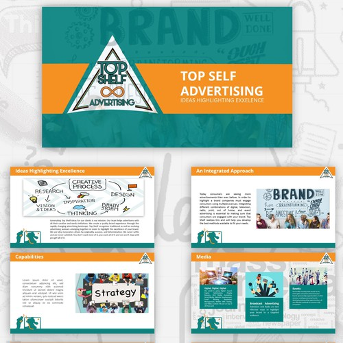 Topshelf Advertising Pitch Deck Powerpoint Template Contest
