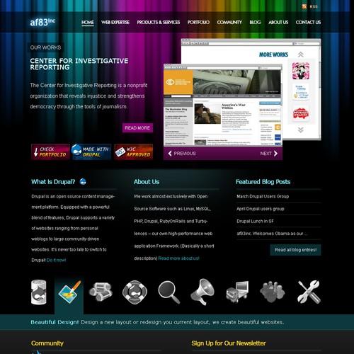 Design finalista por wpshinobi