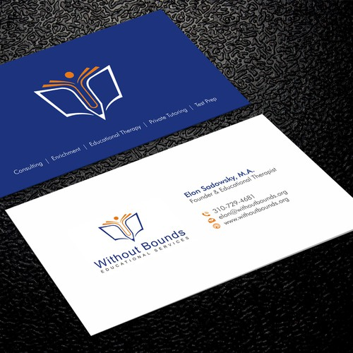 Business cards for without bounds business card contest runner up design by xclusive16 reheart Choice Image