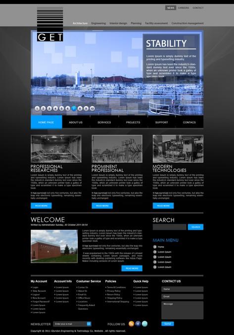 Design vencedor por 99GUN's