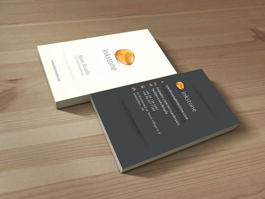 Cool business cards required for tech startup stationery contest cool business cards required for tech startup reheart Image collections