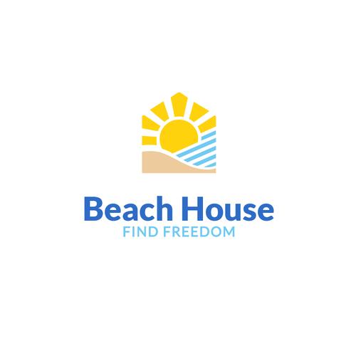 Beach house center for recovery logo design contest for Beach house design competition