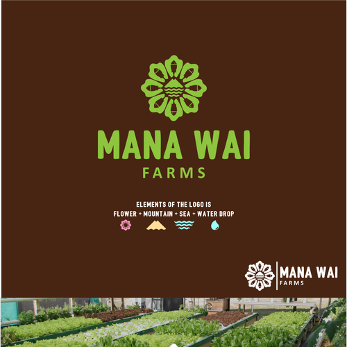 Hawaiian aquaponics company - design a modern logo Design by great19ᵍᵸ