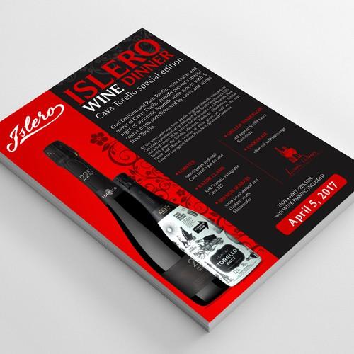 Tasting Menu Design Design by FuturisticBug