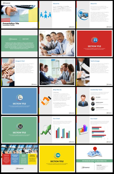 Create A Visually Appealing Powerpoint Template For A Leadership