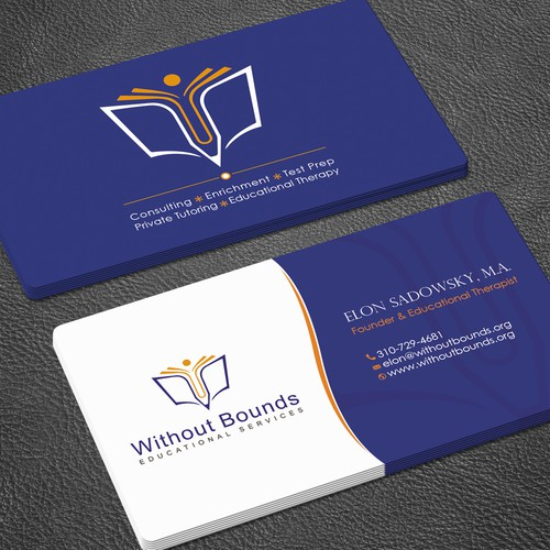 Business cards for without bounds business card contest runner up design by zayden colourmoves