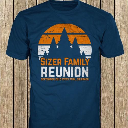 Design A Retro Camp T Shirt For My Family Reunion T Shirt Wettbewerb