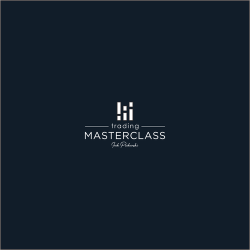 A cool and modern logo, for a MasterClass style course