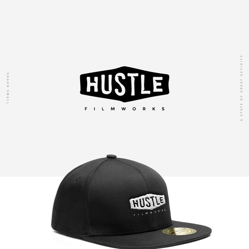 Bring your HUSTLE to my new filmmaking brands logo! Design by themassonest