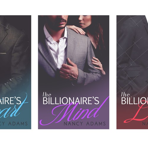 Create Appealing Romance Cover for New Billionaire Romance Trilogy! Design by lysyee