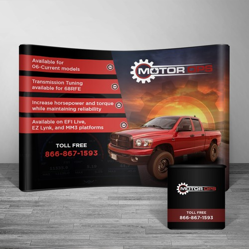 Diesel Pickup Trade Show Banner | Signage contest