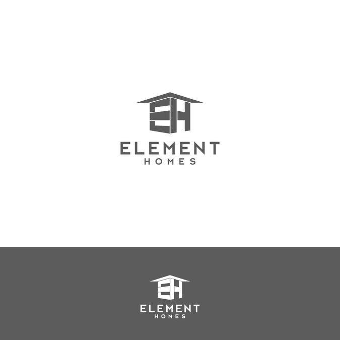 Modern/Contemporary Home Builder Logo