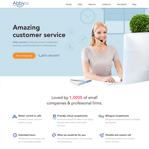 Home Decorators Customer Service: Design A Home Page For A Website That Conveys Happy