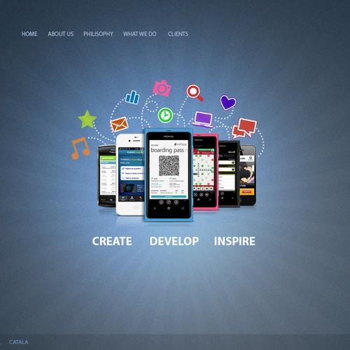 Runner-up design by Ampsz