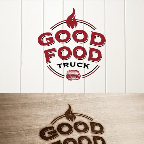 Create a logo and exterior design for FOOD TRUCK | Logo