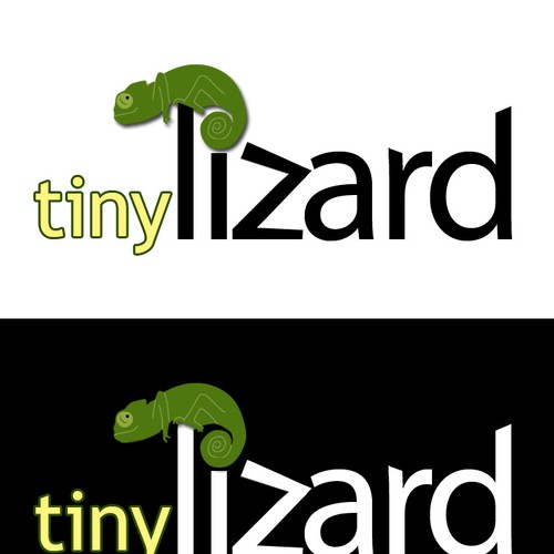 Tiny Lizard Logo Design by marklancaster.net