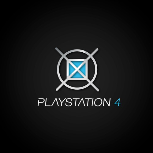 Community Contest: Create the logo for the PlayStation 4. Winner receives $500! Design by Roi Himan