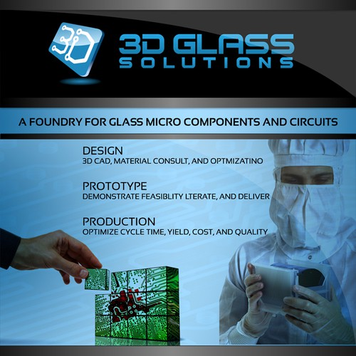 3D Glass Solutions Booth Graphic Design by Salman Rabbani