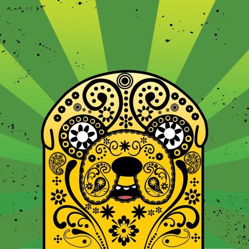 **ADVENTURE TIME SUGAR SKULL CALAVERA POSTERS!** Diseño de Argo Studio