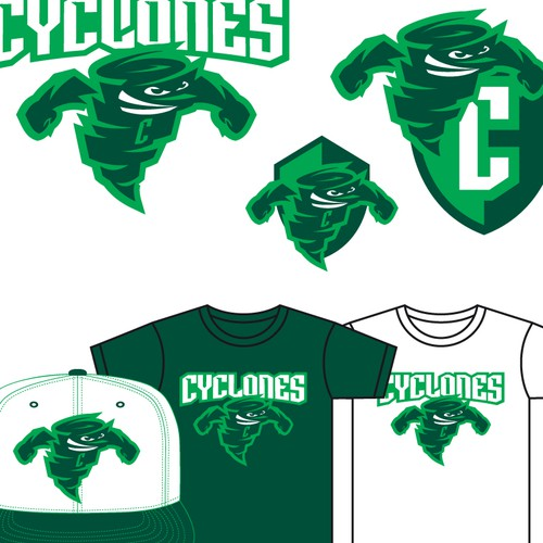 893e1834cd Create a Cyclone for an Athletic Department! | Logo design contest