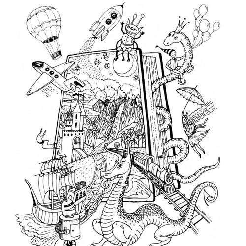 Runner-up design by Sveta Medvedieva