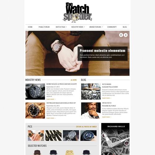 Runner-up design by DesignMyTemplate.com
