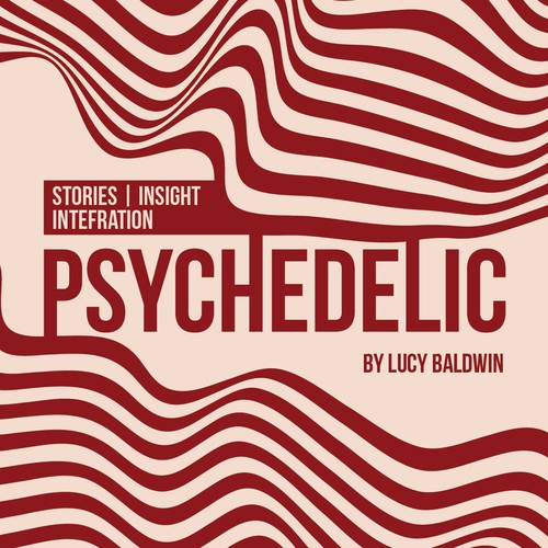 Psychedelic Podcast Cover!! Look for something trippy that POPS. Design by zennon