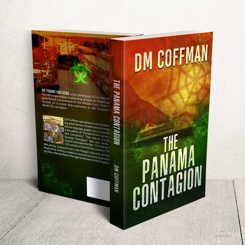 """Thriller novel series needs Net cover design for book 3"" winning Book cover by LMess"