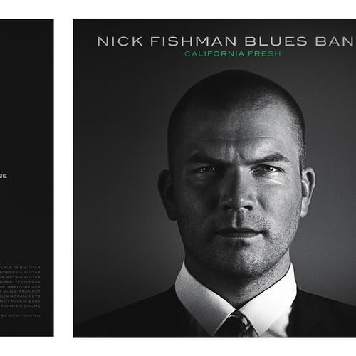 Album cover San Francisco drummer's groundbreaking new album. Design by subsiststudios