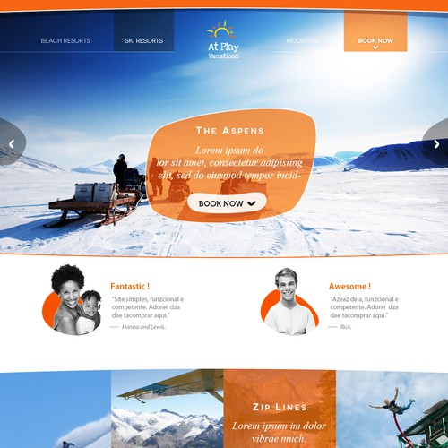 Runner-up design by Wuizard Agency