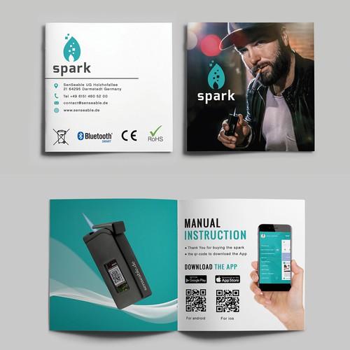 instruction manual needs a design brochure contest