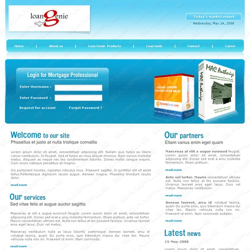 Zweitplatziertes Design von webmedia