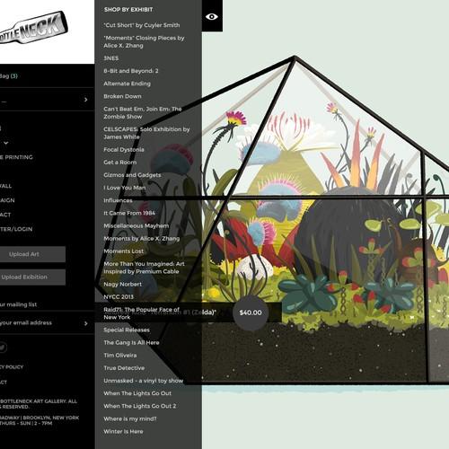 Runner-up design by violetaweb