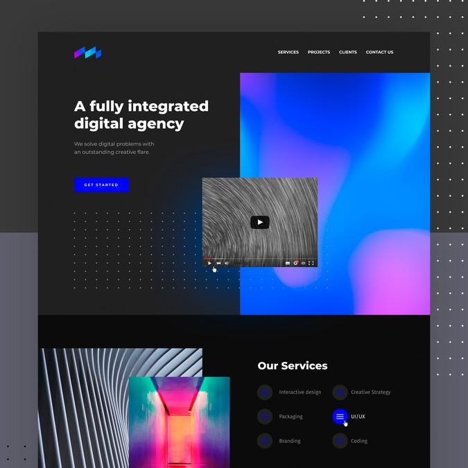 Design vencedor por Belozorov