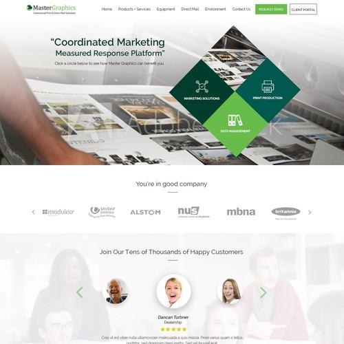 Diseño finalista de WebFlux_Solutions