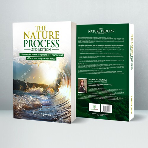 Book Cover Design Nature ~ Create a clean and fresh book cover for the nature process