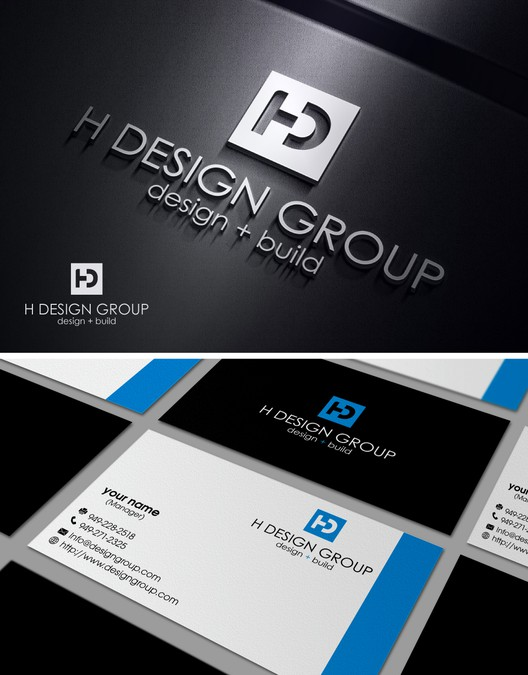 Create a modern and luxurious logo and business card for h design create a modern and luxurious logo and business card for h design group colourmoves