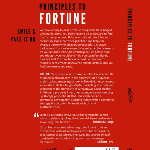 Book Cover Design Principles : Book cover principles to fortune contest