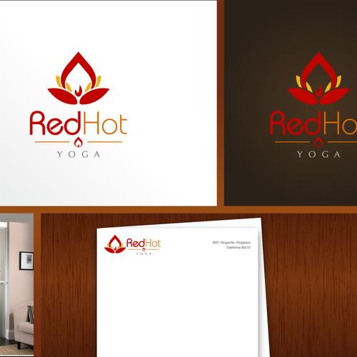 Stylish Bold Logo For Hot Yoga Studio Logo Design Contest 99designs