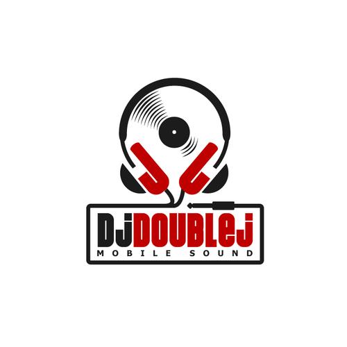 create a sweet iconic design logo for dj double j concurso logo