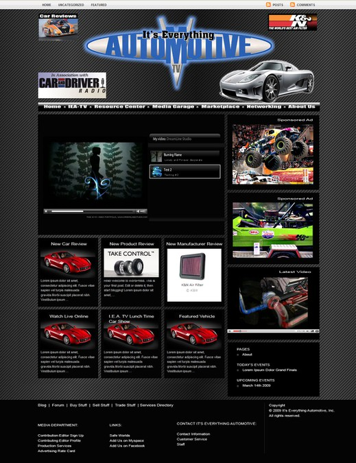 Diseño ganador de WPdesignz