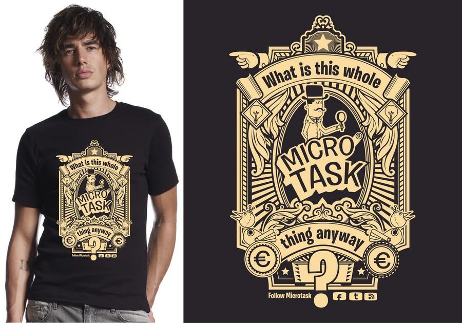T Shirt Design Contest Super Cool Retro Futuristic T