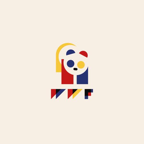 Community Contest | Reimagine a famous logo in Bauhaus style Design by ross!e