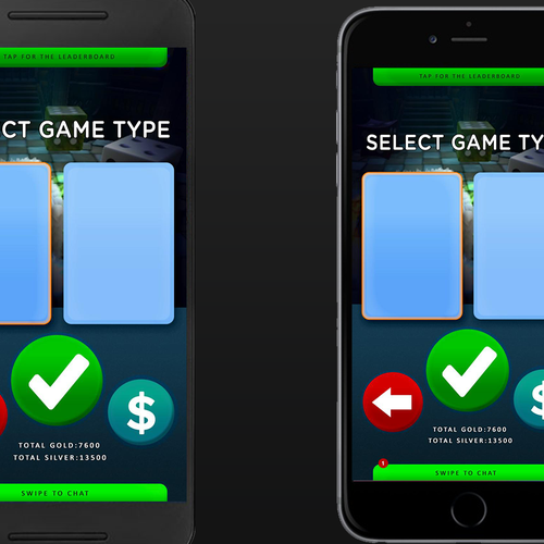 Diceon game layout design gui contest di design per app for App per design
